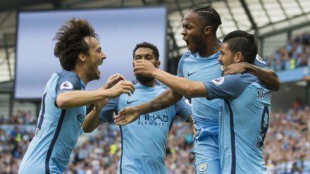 manchester city, raheem streling, premier league, the citizen