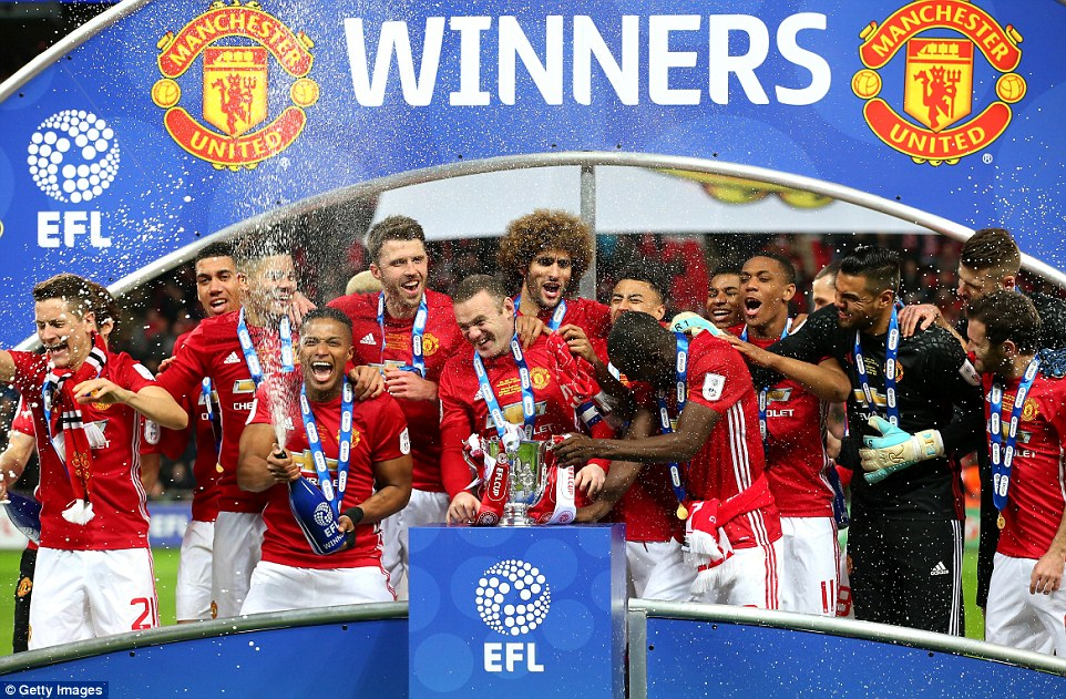manchester united, burton albion, carabao cup 2017