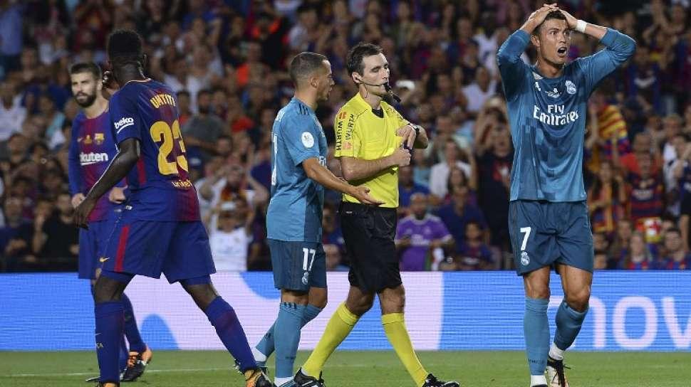 real madrid, barcelona, cristiano ronaldo, piala super spanyol