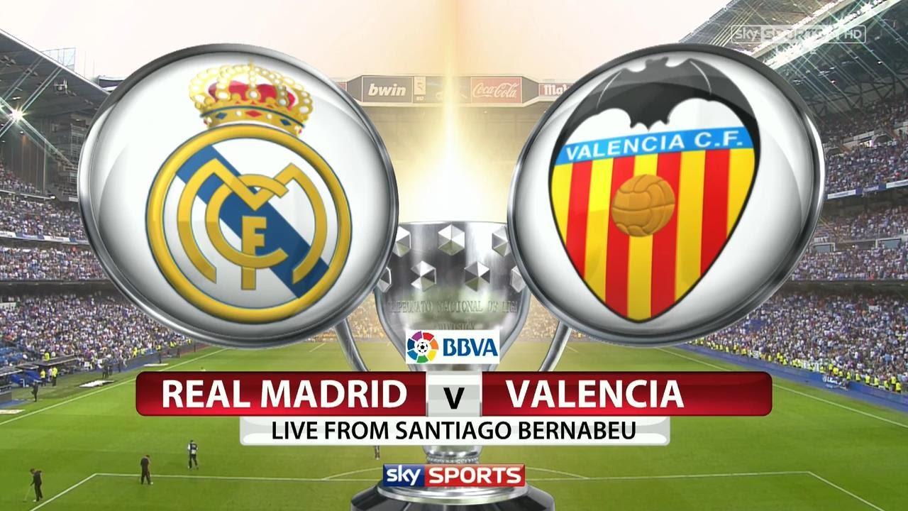 real madrid, valencia, la liga