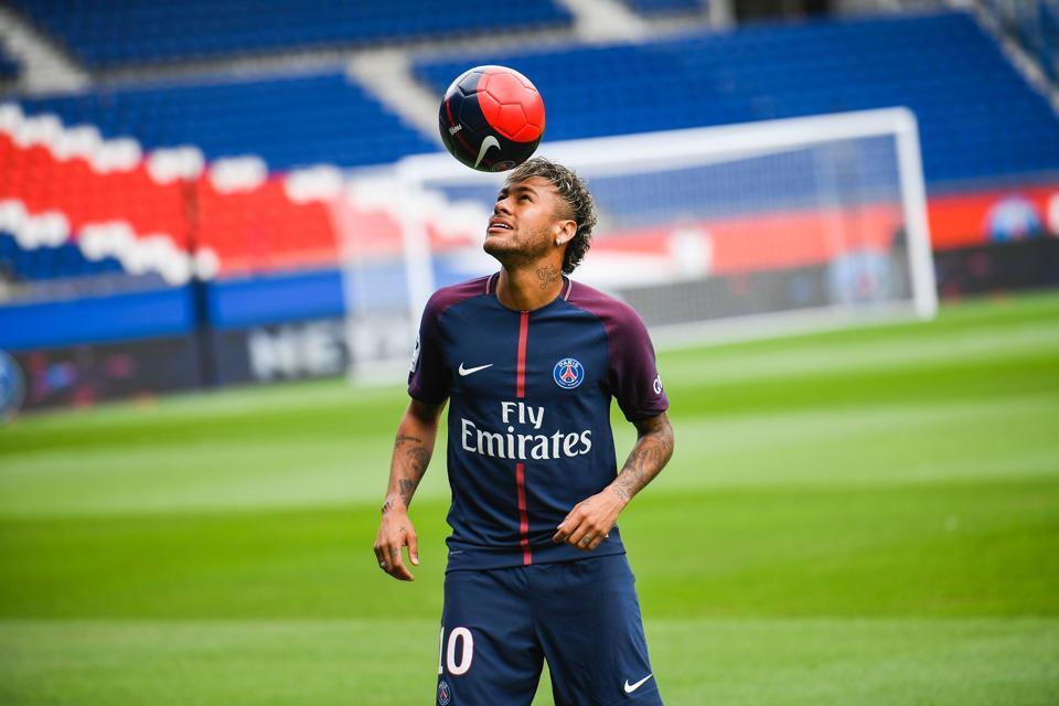neymar, paris saint germain, guingamp, unai emery