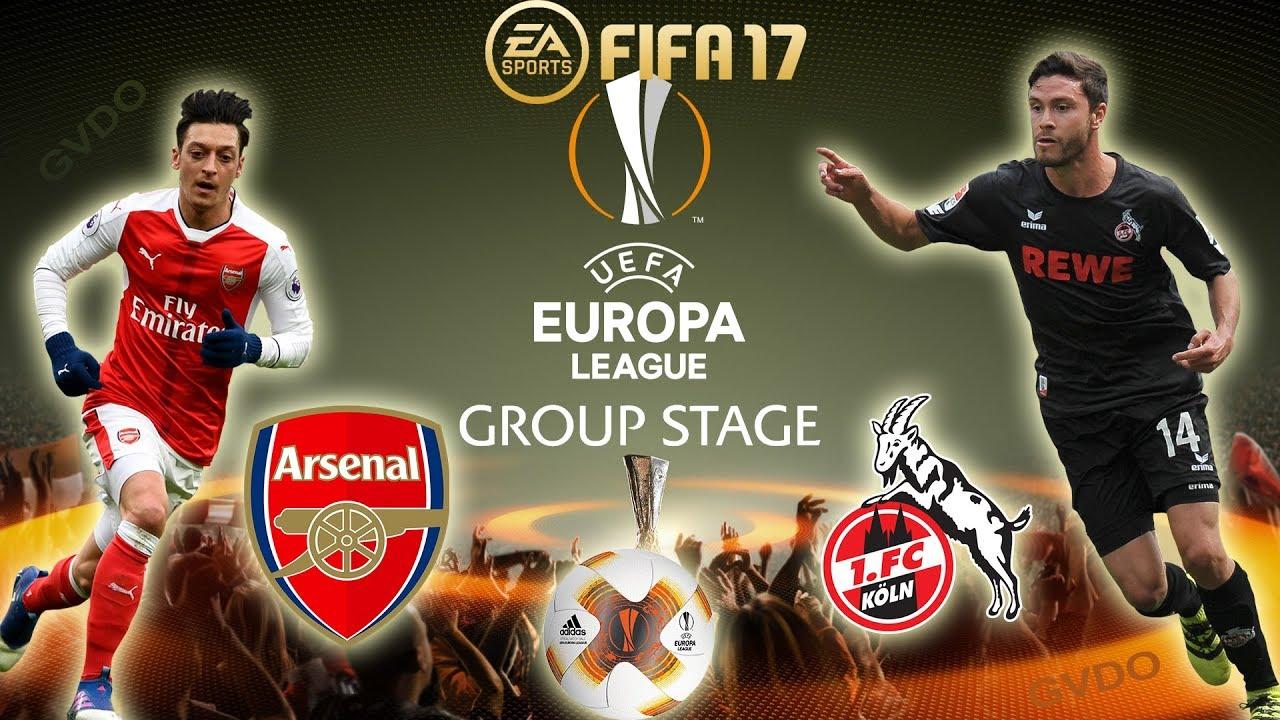 arsenal, fc koln, liga champions
