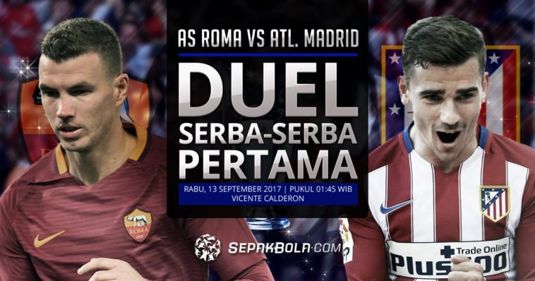 as roma, atletico madrid, liga champions