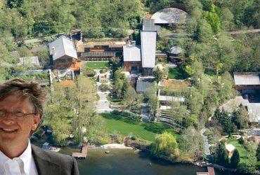 rumah mewah, rumah bill gates, rumah miliarder
