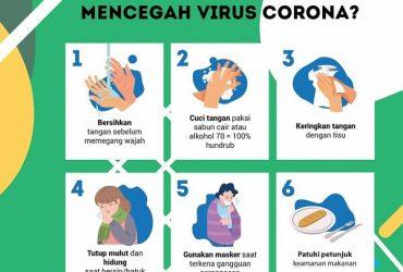 Cara Simpel Mencegah Penyebaran Virus Corona Covid-19